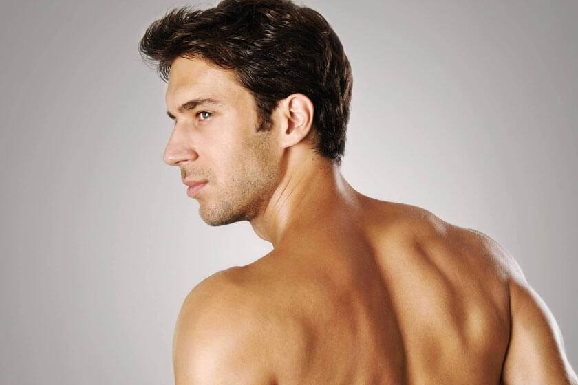 Man with chiseled jawline - Chin Augmentation in The Woodlands, TX