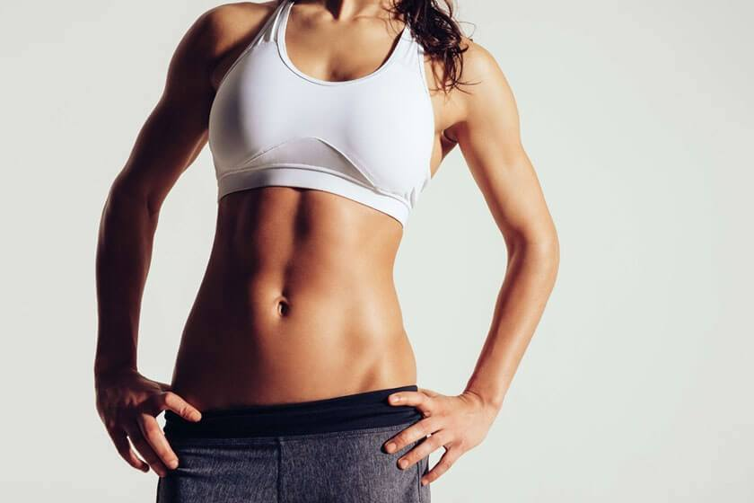 Woman's Toned Abs - Tummy Tuck in The Woodlands, TX