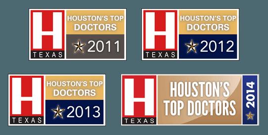 Houston's Top Doctors logos