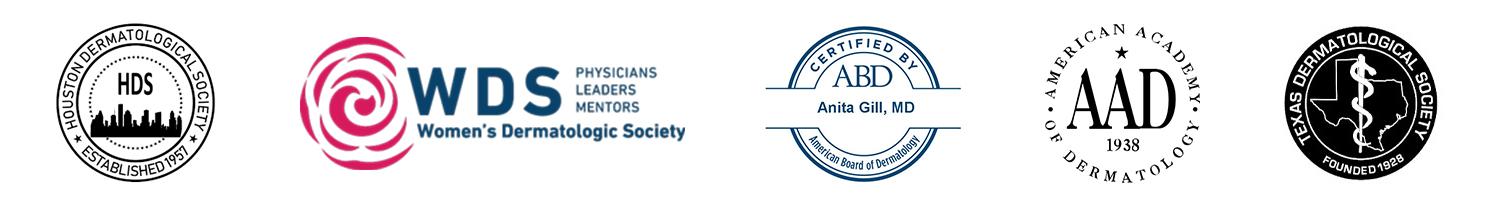 Dr. Anita Gill's credentials
